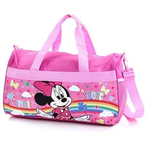 "Girl's Minnie Mouse 18"" Duffel Bag."